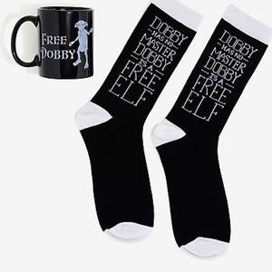 Harry Potter Dobby Mug & Sock Gift Set